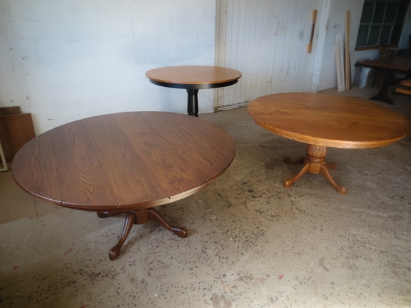 Variety of Round Pedestal Tables…