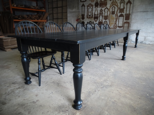 Large All Painted Farm Table