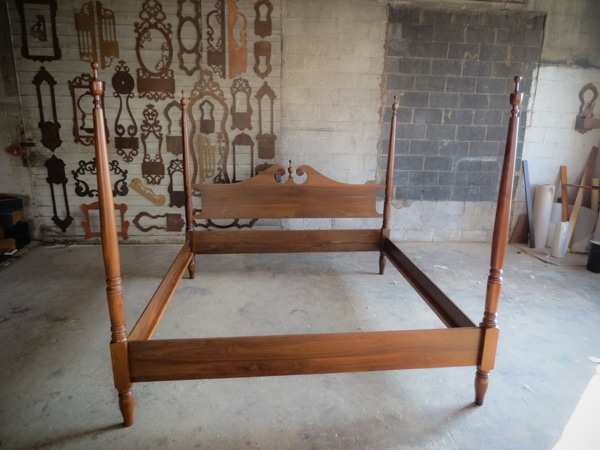 Reproduced Bed…