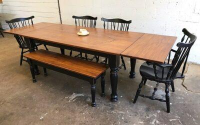 Ready To Ship Farmhouse Tables!!