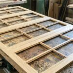reclaimed chestnut cabinet doors