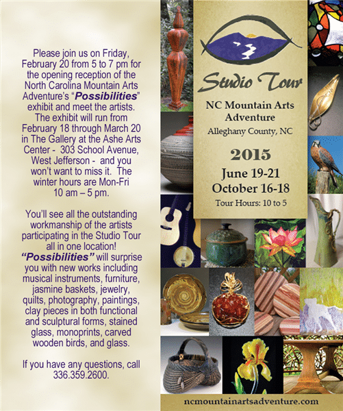 North Carolina Mountain Arts Adventure